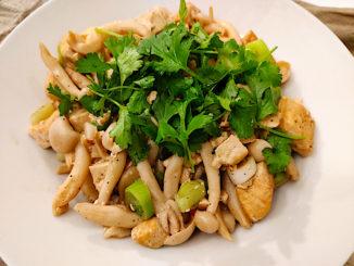 Shimeji s tofu