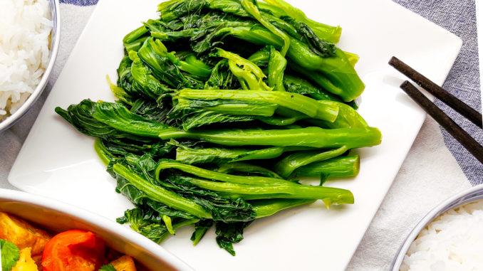 Listová zelenina Choi Sum